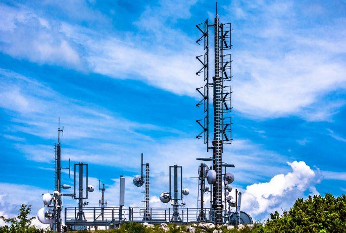 mobile phone transmitter antenna - photo